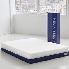 http://www.modelhomekitchens.com/category/Mattress/ $900 for a customized queen mattress by Helix Sleep