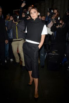 Victoria Beckham Wearing Victoria Beckham At The Vogue Dinner, September 2013