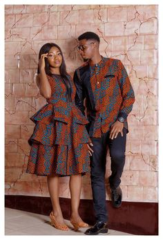 Couples African Outfits, Best African Dresses, Latest African Fashion Dresses, African Print Dresses, African Print Fashion, African Attire, Couple Outfits, Dress Outfits, Ankara Fashion