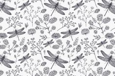 You can add a touch of class and delicacy to any room with our beautiful Dragonfly Illustration Wallpaper Mural. This mural depicts many intricately illustrated dragonflies, flowers and plants paired with the elegant simplicity of faded black lines against a toned white background. Minimalism is consistently one of the biggest interior design trends and it... Read more »