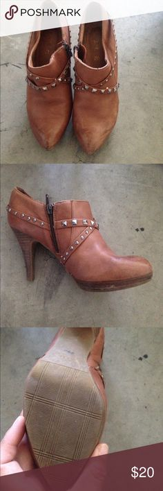 China top brand leather boots ( belle) size 6 Good condition belle Shoes Ankle Boots & Booties