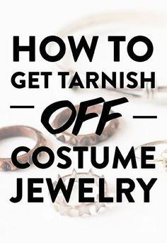 How To Fix Fake Jewelry: Green Rings, Tarnish, Discoloration. Jewelry organizer How To Fix Fake Jewelry: Green Rings, Tarnish, Discoloration & Diy Schmuck, Schmuck Design, Vintage Costume Jewelry, Vintage Jewelry, Costume Jewelry Rings, Costume Jewelry Crafts, Costume Necklaces, Costume Rings, Pearl Necklaces