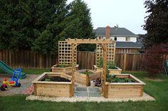 Raised Garden Plan