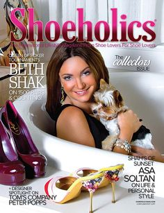 Shoeholics magazine holiday issue. Available at www.shoeholicsmag.... Get your FREE copy now!