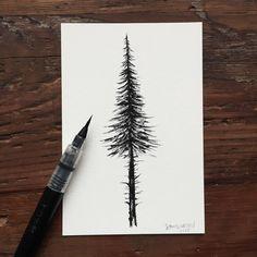 Fir tree by Sam Larson