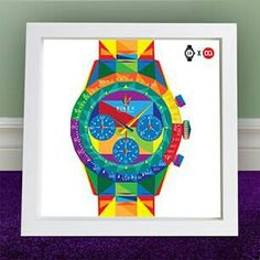 Rolex Daytona Paul Newman pop art Rolex Daytona Paul Newman, Its A Mans World, Rolex Watches, Pop Art, Sketch, Canvas, Diamond, School, Artwork