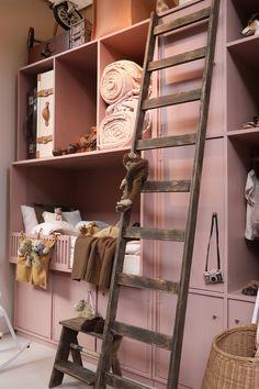 Cool Kids Bedrooms, Color Rosa, Kidsroom, Baby Room, Ladder Decor, Baby Kids, Sweet Home, New Homes, Nursery