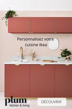 Personnalisez votre cuisine Ikea avec les façades Plum Kitchen ! Choisissez le coloris et la finition, et obtenez une cuisine unique, à votre image ✨