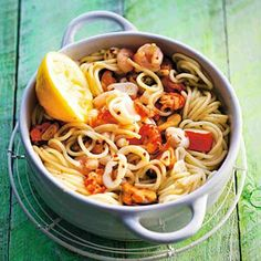 Spaghetti met zeevruchten - Allerhande