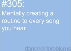 I do this to every song I hear when I'm listening to my iPod!