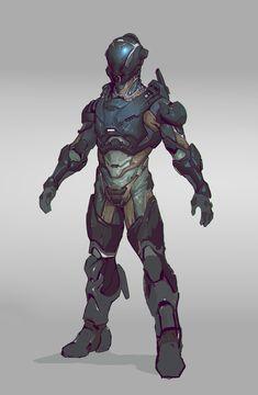 ArtStation - Sci fi concepts, Aleksey Scherbakov Character Concept, Character Art, Character Design, Fantasy Armor, Sci Fi Fantasy, Armor Concept, Concept Art, Armadura Sci Fi, Cyberpunk
