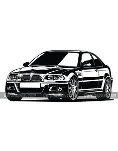 """Képtalálat a következőre: """"bmw vector"""" 2005 Bmw M3, Lexus Ls, Car Vector, Spa Massage, Art Cars, Cars And Motorcycles, Vehicles, Vector Illustrations, Automobile"""