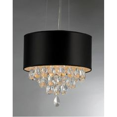 You'll love the Sophie 4 Light Crystal Drum Chandelier at Wayfair - Great Deals on all Home Improvement products with Free Shipping on most stuff, even the big stuff.