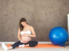 Gym future maman: 7 exercices pilates - Enfant.com
