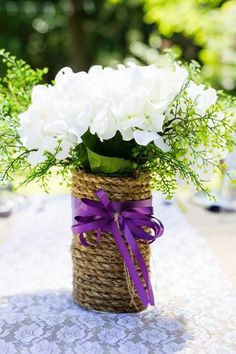 For sale rustic center pieces with hydrangeas decorations, email Christine.Daskam@gmail.com
