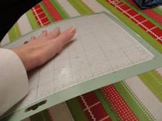 Imperfectly Beautiful: Make your Cricut Cutting Mat Sticky Again! Save a bundle, using this tip to make your mat stick like new, rather than replacing it.