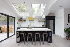 House Design, Colours, Mac, Extension Ideas, Kitchen, Table, House Exteriors, Furniture, Interiors