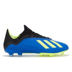 more photos b2f58 52201 adidas X 18.2 Firm Ground Football Boots - Blue