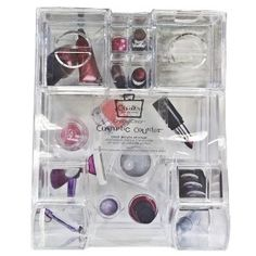 Caboodles Clear Acrylic Counter Tray : Target My Divine Spaces Professional Organization & Staging