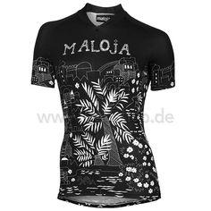 MALOJA MarrakeshM. Women's Short Sleeve Jersey black