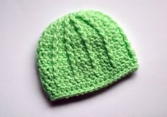 Hey, I found this really awesome Etsy listing at https://www.etsy.com/listing/180326368/green-baby-crochet-hat