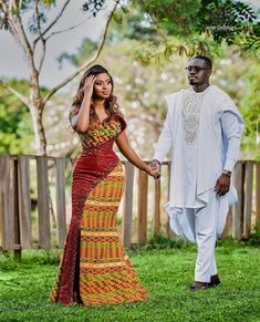 Couples African Outfits, African Wear Dresses, Latest African Fashion Dresses, African Print Fashion, African Wedding Attire, African Attire, African Traditional Wedding Dress, Traditional Gowns, Afro