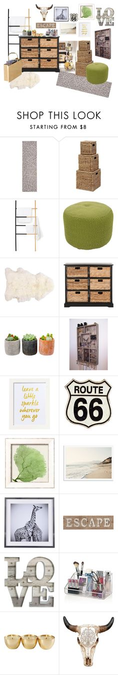 """Mom's Bathroom"" by masterofmurphy on Polyvore featuring interior, interiors, interior design, home, home decor, interior decorating, Dot & Bo, Jaipur, Safavieh and Shop Succulents"