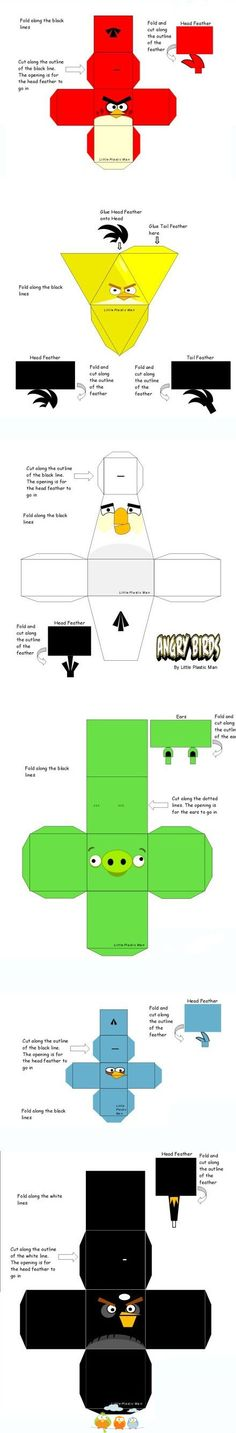 Angry Bird Boxes