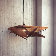 wood Pendant Light lasercut Chandelier lamp Handmade plywood hanging ceiling cup ecological minimal modern design industrial by AAarchiTECtureLab on Etsy https://www.etsy.com/listing/261924375/wood-pendant-light-lasercut-chandelier