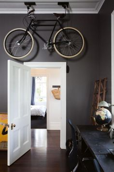 study grey walls bicycle-aug14