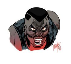Superheroes In Full Color Black Characters, Comic Book Characters, Comic Books, Marvel Characters, Werewolf Vs Vampire, Vampire Hunter, Marvel Art, Marvel Heroes, Eric Brooks