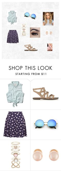 """""""Casual"""" by hannahgabby on Polyvore featuring Abercrombie & Fitch, Sam Edelman, New Look, Accessorize and Kenneth Jay Lane"""