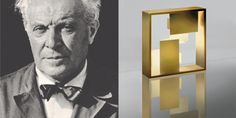"""For an architect, beauty is the most stable structure and the most resistant materials"" Gio Ponti, designer of the ‪#‎Fato‬ lamp conceived in 1969 and still in our catalogue 47 years later. ► http://bit.ly/FatoGold"