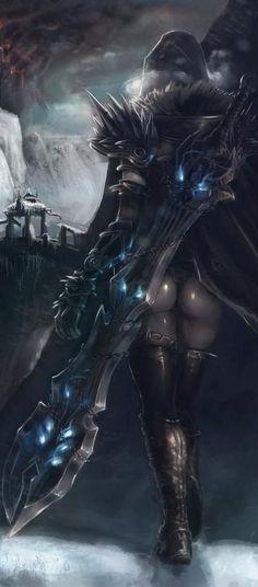 Sieht aus wie krieg(Darksiders) als Frau