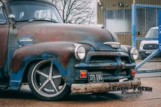 1954 Chevy 3100 - The Ultimate Rat Rod (Build – Farm Fresh Garage Ltd - Classic American Truck Parts Shop, Workshop & Rat Rods Chevrolet Apache, Chevy 3100, Chevy Chevrolet, Chevy Pickups, Gmc Pickup Trucks, Gm Trucks, Rat Rod Build, 1954 Chevy Truck, Panel Truck