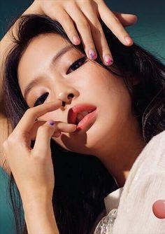 K-pop Idol and fashion inspiration Blackpink Jennie Kim Jennie, Jenny Kim, Blackpink Makeup, Makeup Looks, Makeup Inspo, Makeup Ideas, Makeup Tutorials, Beauty Makeup, Korean Makeup