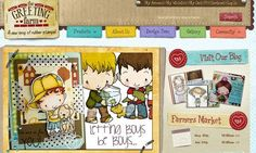 20 Creative Kid Website Designs | Design Inspiration | PSD Collector