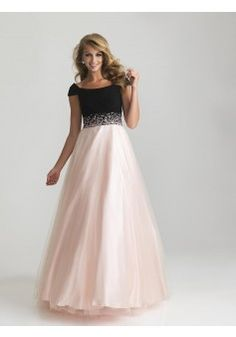 A-line Bateau Sleeveless Tulle Pearl Pink Prom Dresses With Beading #BK156 - See more at: http://www.victoriasdress.com/prom-dresses/plus-size-prom-dresses.html#sthash.b2vU9Uvq.dpuf