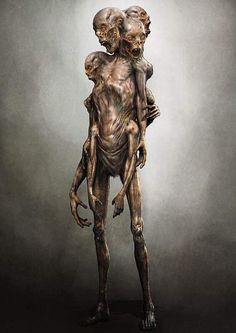 63 ideas for monster concept art horror scary Monster Art, Fantasy Monster, Monster Design, Dark Creatures, Alien Creatures, Fantasy Creatures, Zombies, Arte Horror, Horror Art