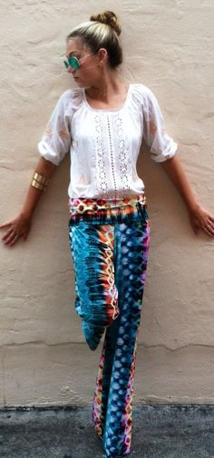 Candy Pop Exuma Pants Pops of lemon mixed with the sweet flavor of blue berry blend and pink lemonade. These super sweet Exuma pants will lighten up the party and bring a tangy flavor blend. If you have ordered our exumas in the past you will know that they are super comfy and will flatter your body type super well. These pants are machine washable.