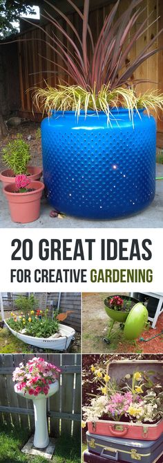 Check out these amazing container projects that will inject life and style into your garden!