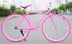 Searching for affordable Bike Fixie in Sports & Entertainment, Toys & Hobbies, Men's Clothing, Women's Clothing? Buy high quality and affordable Bike Fixie via sales. Enjoy exclusive discounts and free global delivery on Bike Fixie at AliExpress Bmx Bikes, Sport Bikes, Barbie Bike, Dirt Bike Tattoo, Fixed Gear Girl, Vertical Bike Rack, Dirt Bike Helmets, Giant Bikes, Pink Bike