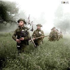 7th Seaforth Highlanders, 15th (Scottish) Division. Saint-Manvieu-Norrey - 'Operation Epsom' - 26th June 1944 (IWM)