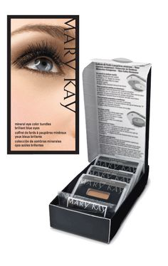 Eye Bundles Include 3 Shades, Application Tips, & FREE Eye Applicators.  Choose From Brilliant Blue, Hypnotic Hazel, Gorgeous Green, or Beautiful Brown for $19.50/each