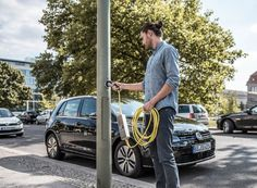 hounslow council in london converts its streetlights to energy efficient LEDs with integrated electric vehicle charging points.