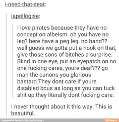 sorry bout the language but this is great Tumblr Funny, Funny Memes, Jokes, Tumblr Stuff, Tumblr Posts, Writing Tips, Writing Prompts, Funny Cute, Hilarious