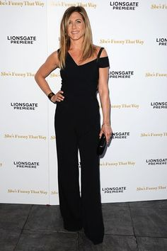 Best dressed - Jennifer Aniston in a black Roland Mouret jumpsuit - click through to see who joins her in this week's list