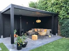 In create outdoor backyard design, you must first determine its function, as a park, a hangout, a playground or as a place to reflect. Patio Garden Ideas On A Budget, Budget Patio, Backyard Patio Designs, Pergola Patio, Patio Ideas, Pergola Kits, Pergola Plans, Pavers Patio, Corner Pergola