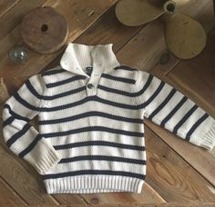 Check out this listing on Kidizen: Gap Navy + Cream Nautical Sweater  via @kidizen #shopkidizen