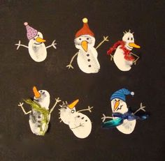 Make your pins come true – 10 Christmas Fingerprint & Handprint Crafts For Kids Christmas Hearts, Diy Christmas Cards, Noel Christmas, Classroom Crafts, Preschool Crafts, Snowman Crafts, Holiday Crafts, Art For Kids, Crafts For Kids